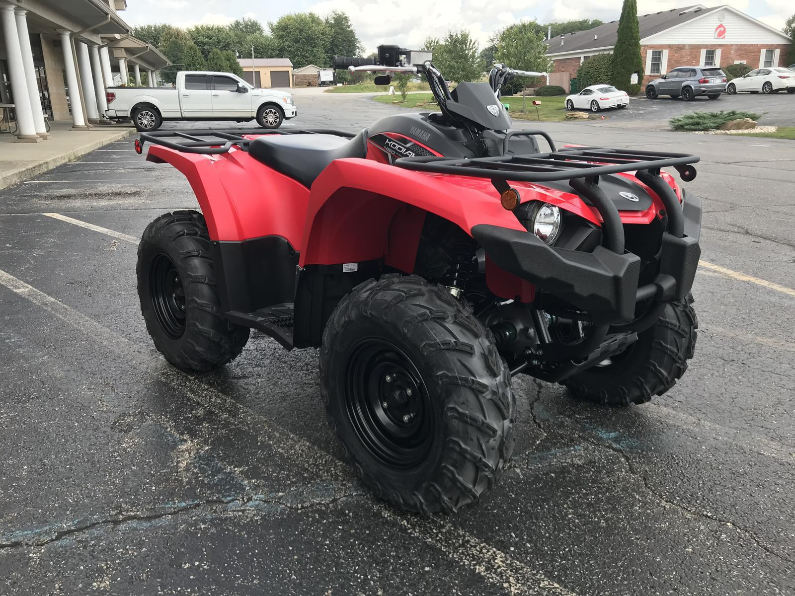 2019 Yamaha Kodiak 450 4wd For Sale In Martinsville Flat Out Fuel Filter 19 Red 04