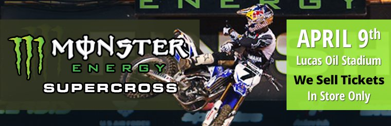 We Sell Supercross Tickets - April 9th, Lucas Oil