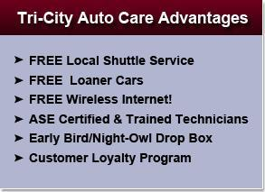 Tri-City Auto Care Advantages