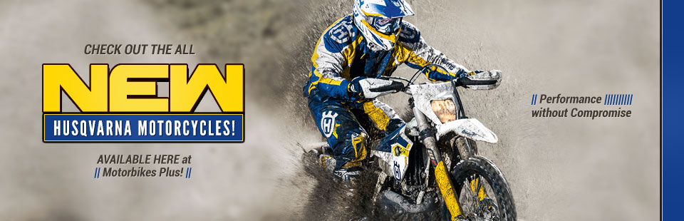 Husqvarna Motorcycles: Get performance without compromise at Motorbikes Plus! Click here to view our selection.