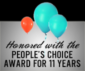 Honored with the People's Choice Award for 11 Years