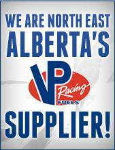 We are North East Alberta's VP race fuel supplier!
