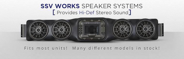 SSV Works Speaker Systems: Click here to view the models.