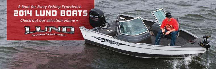 2014 Lund Boats: Click here to check out our selection online.