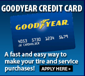 Goodyear Credit Card: Apply Here.