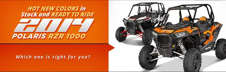 Click here to view the 2014 Polaris RZR 1000.