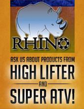 Ask us about products from High Lifter and Super ATV!
