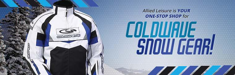 Allied Leisure is your one-stop shop for Coldwave snow gear!
