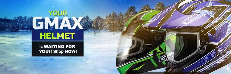 Your GMAX helmet is waiting for you! Shop now!
