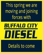 This spring we are moving and joining forces with Buffalo City Diesel.  Details to come