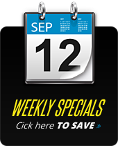 Weekly Specials: Click here to save.