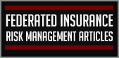 Federated Insurance Risk Management Articles