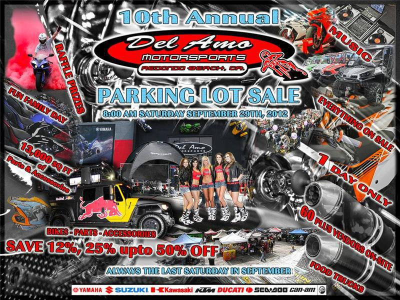 10th Annual Del Amo Motorsports Parking Lot Sale