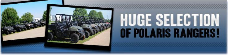 Huge Selection of Polaris Rangers