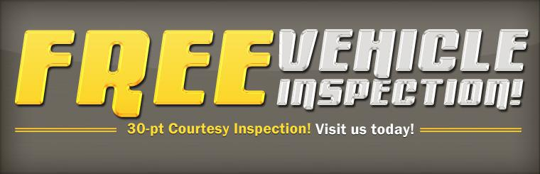 Visit us today for your free 30-pt courtesy inspection! Click here for directions.