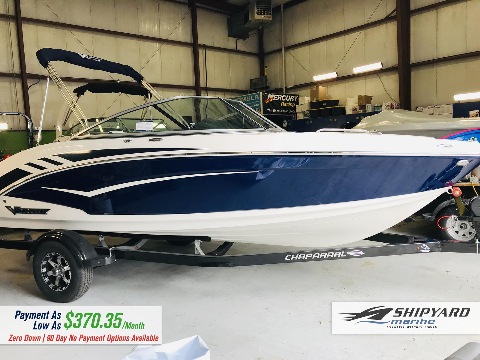 Inventory from Vortex Boats and Donzi Shipyard Marine