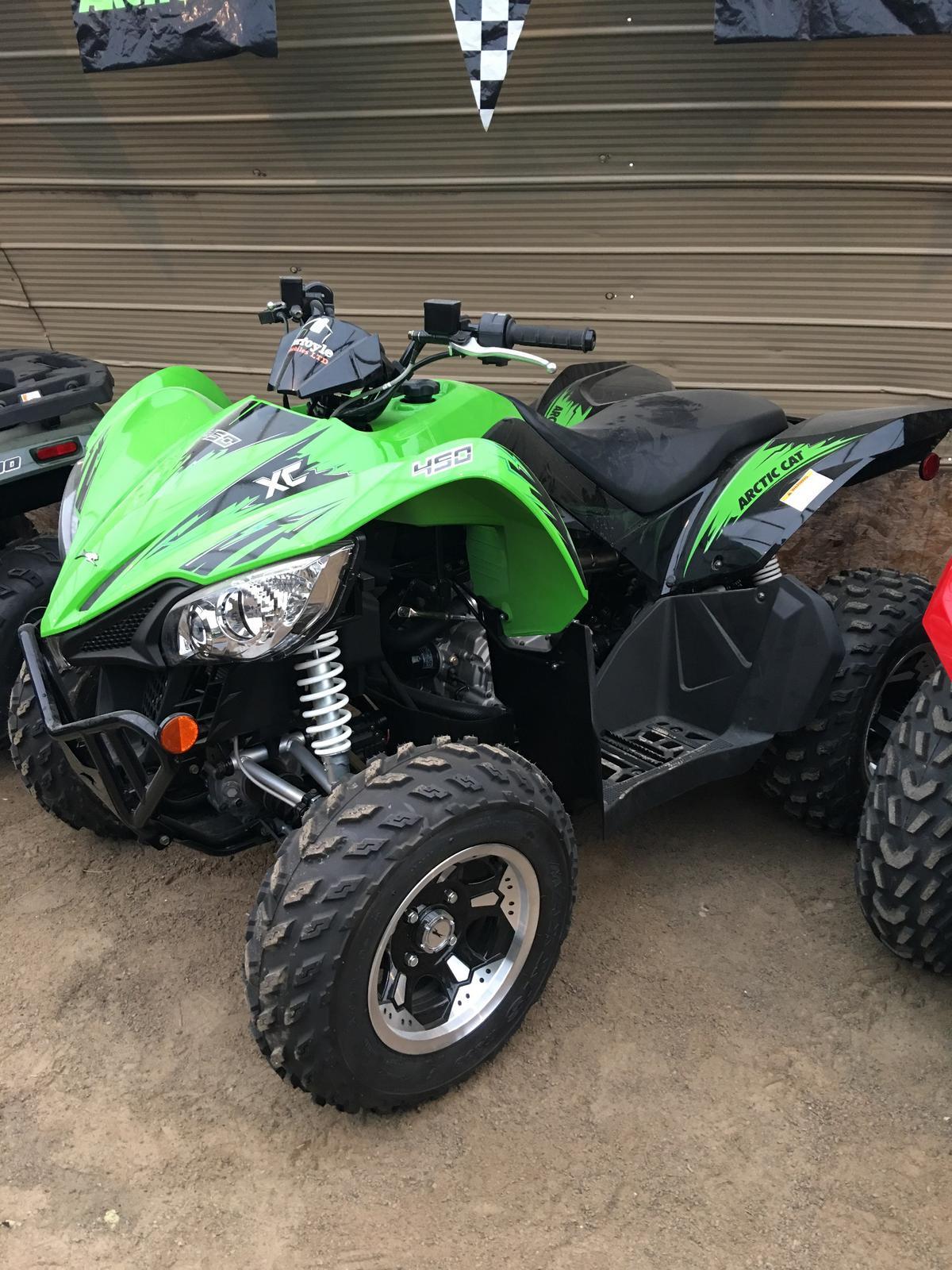 2017 XC 450 Green ()