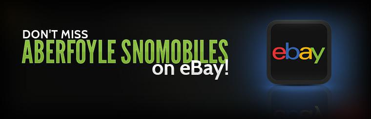 Don't miss Aberfoyle Snomobiles on eBay!