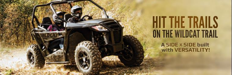 2014 Arctic Cat Wildcat Trail: A side x side built with versatility!