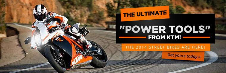 The 2014 KTM street bikes are here!