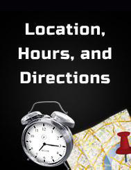 Location, Hours, and Directions