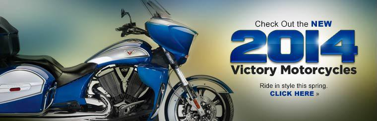Ride in style with 2014 Victory motorcycles. Click here to check them out.