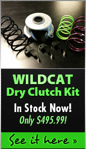 Wildcat Dry Clutch Kit