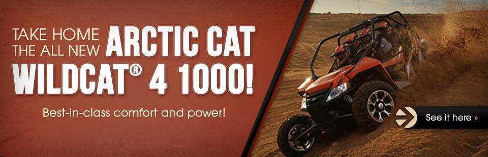 Take home the all new Wildcat 4 1000!