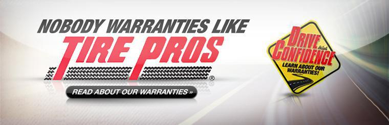Drive with Confidence with the Tire Pros Warranty