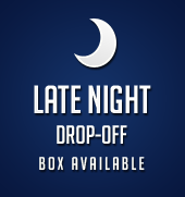 Late Night Drop-Off Box Available