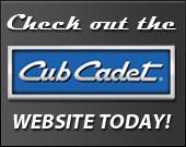 Check out the Cub Cadet website today!