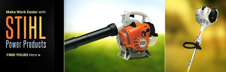 Make work easier with STIHL power products!