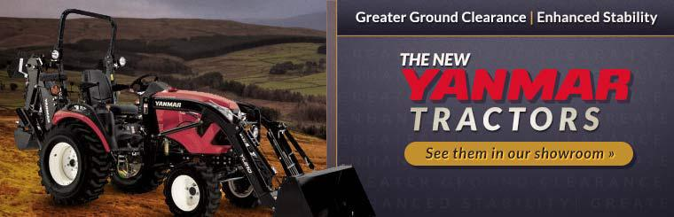 New Yanmar Tractors: Click here to see them in our showroom.