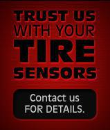 Trust us with your tire sensors. Contact us for details.