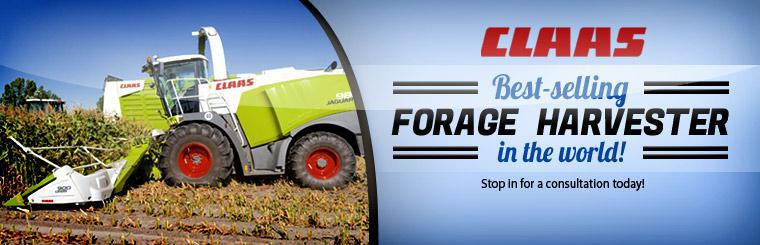 Click here to check out CLAAS forage harvesters.