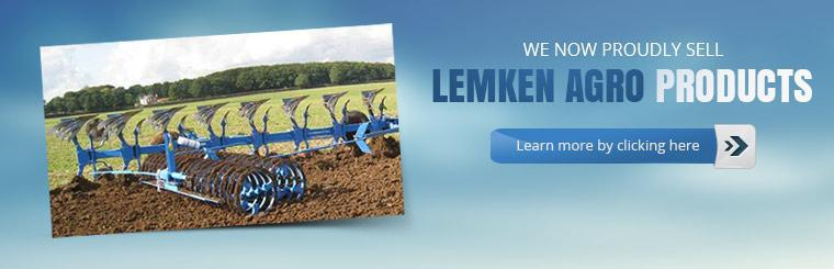 We now proudly sell LEMKEN Agro products. Click here to learn more.