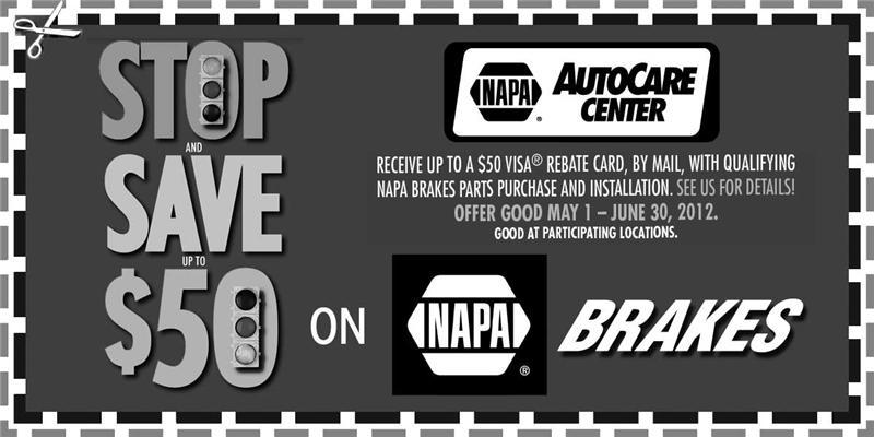 NAPA June Brake promotion, Duluth, MN