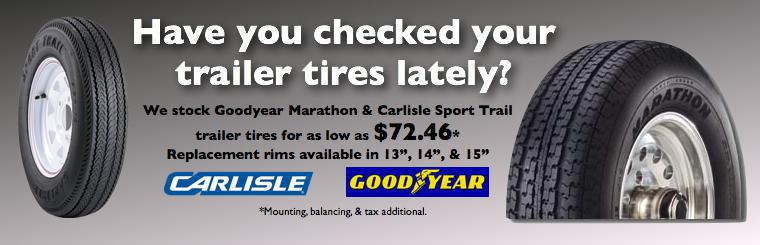 Trailer Tires - Allstar Service Center Duluth MN 55811 218-279-5200