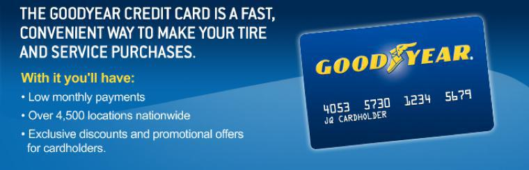 Goodyear Credit Card Application Allstar Service Center Duluth MN 55811