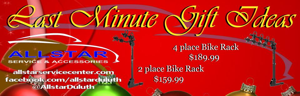 Last Minute gift Ideas Allstar Service Center Duluth MN