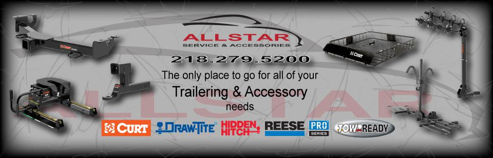 Allstar Service Center is your Trailer and Accessory Superstore!