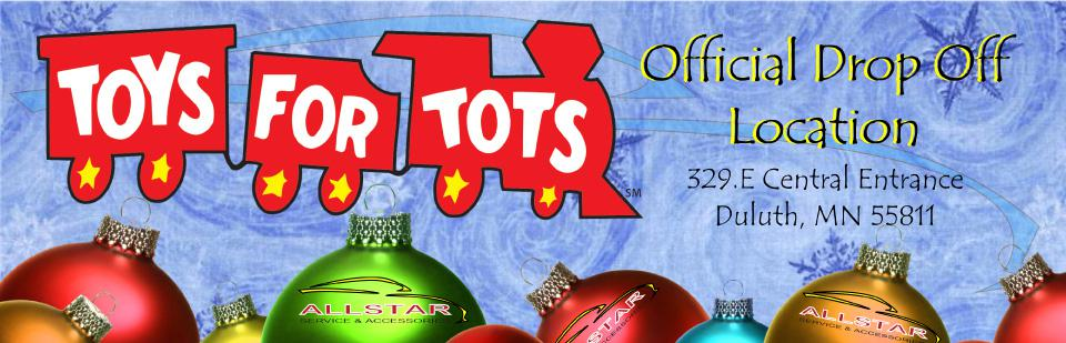 Toys for Tots Official drop off - Allstar Service Center