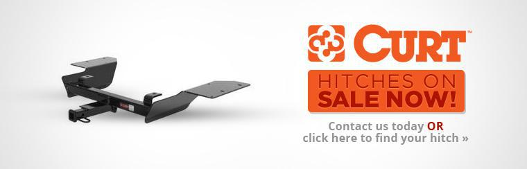 CURT Hitches on Sale Now: Contact us today or click here to find your hitch.