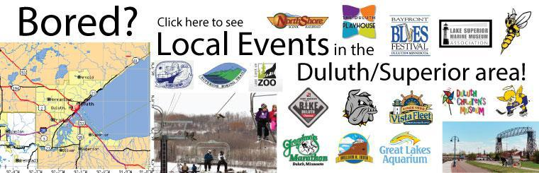 Local Events in Duluth/Superior presented by Allstar Service Center 218-279-5200