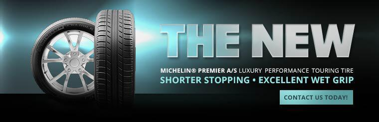Michelin® Premier A/S Luxury Performance Touring Tire: Contact us today!