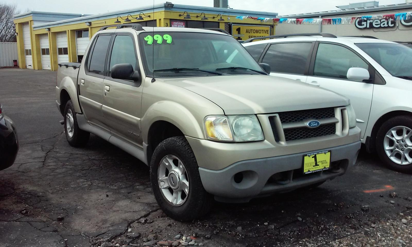 2001 Ford Explorer Sport Track for sale in Waterloo, IA   Priority ...