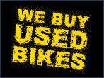 We buy used bikes