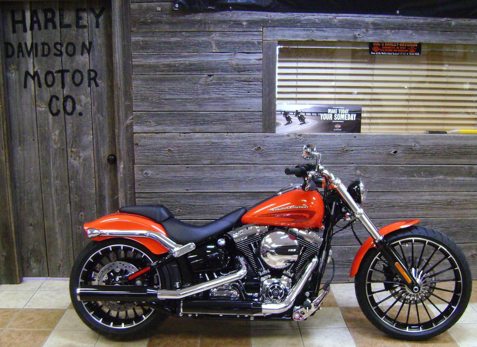 2017 harley-davidson® fls softail slim® for sale in bonduel, wi