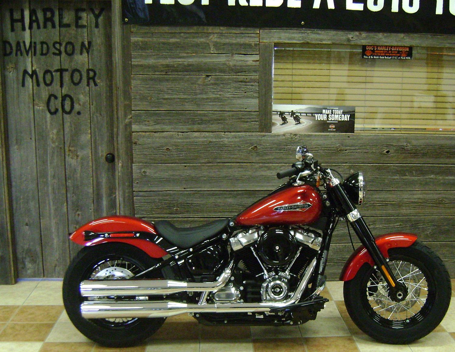 Harley Softail Slim >> 2018 Harley Davidson Softail Slim Color Option For Sale In