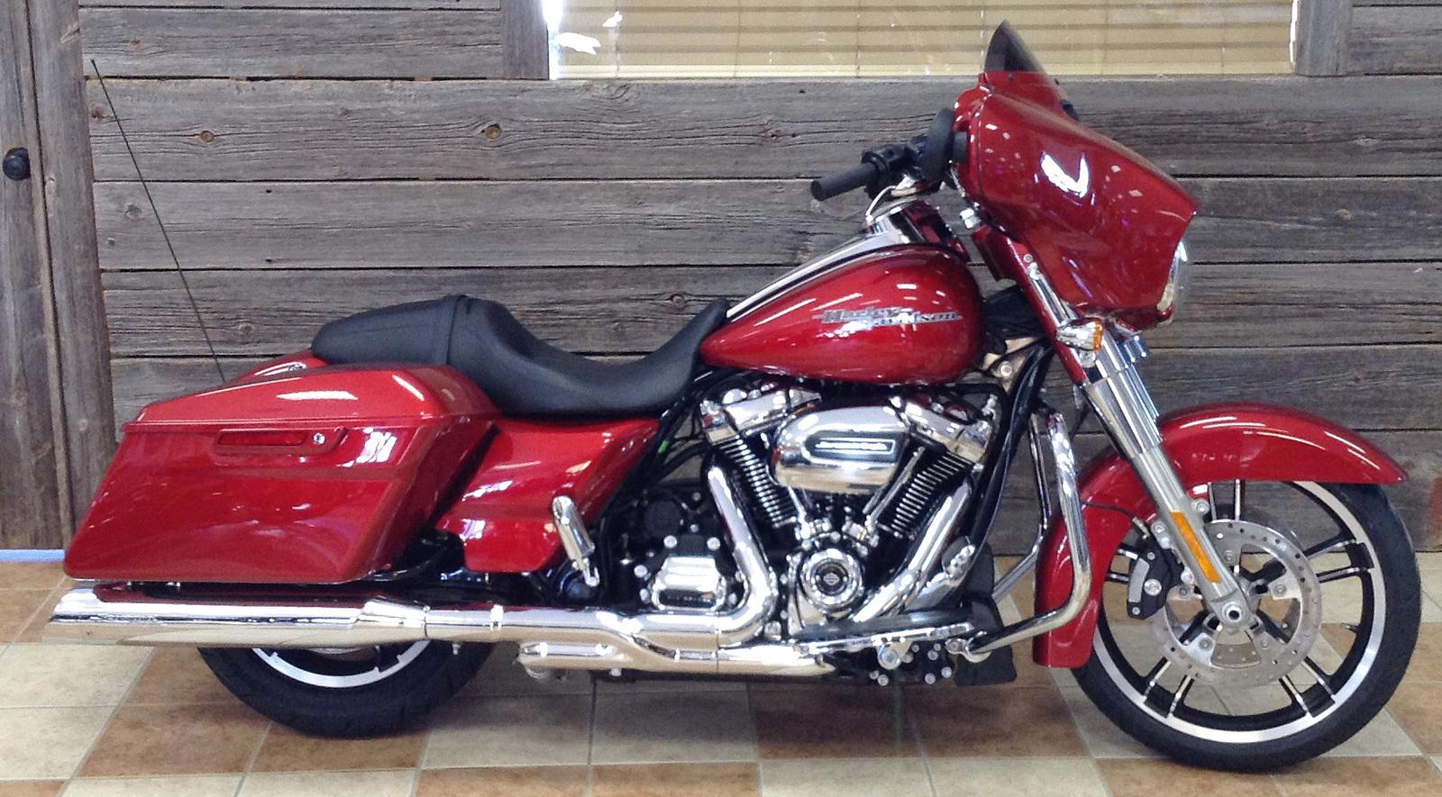 2019 Harley Davidson Street Glide Color Option W